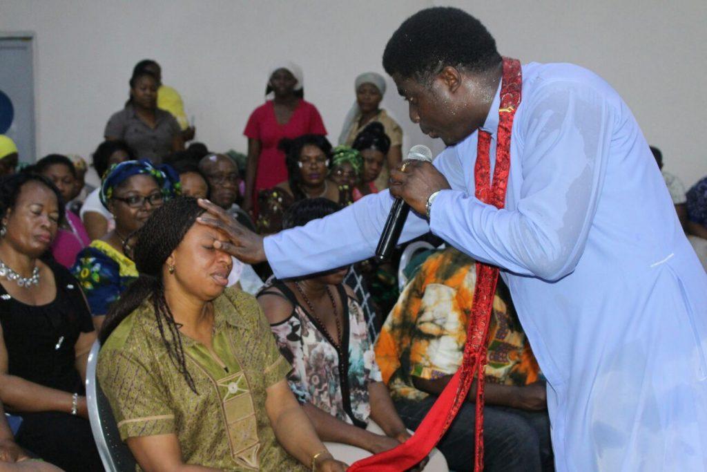 Praying by Fr Ebube Muonso